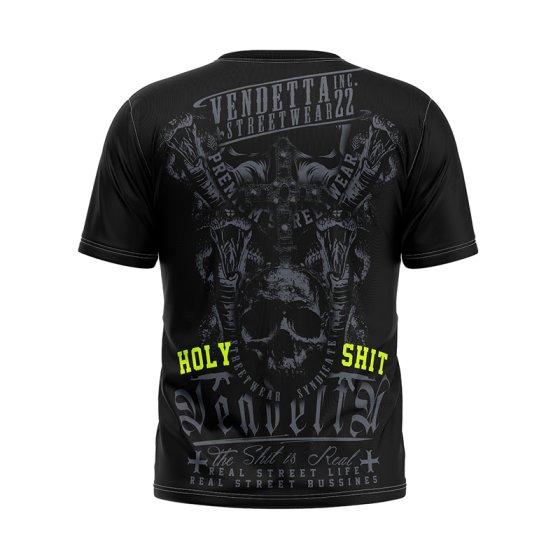 Vendetta Inc. Men Shirt Holy Shit black 4XL