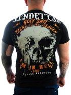 Vendetta Inc. Men Shirt In Hell black