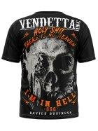 Vendetta Inc. Men Shirt In Hell black 4XL