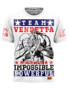 Vendetta Inc. Men Shirt Powerful white
