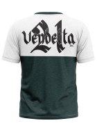 Vendetta Inc. Men Shirt Pray white,grey M