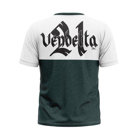 Vendetta Inc. Men Shirt Pray white,grey L