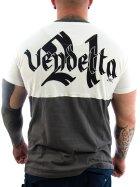 Vendetta Inc. Shirt Pray weiß,grau 3XL