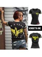 Vendetta Inc. Frauen Shirt Phoenix  schwarz M
