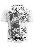 Vendetta Inc. Shirt Crime Supporter weiß 4XL