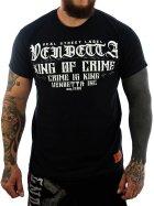 Vendetta Inc. Shirt King of Crime schwarz