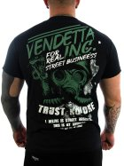 Vendetta Inc. Shirt For Real schwarz