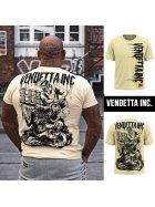 Vendetta Inc. Shirt Kill pale banana M